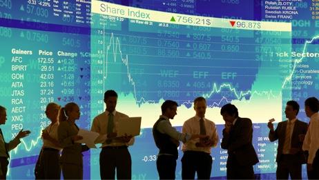 plateforme électronique de bourse